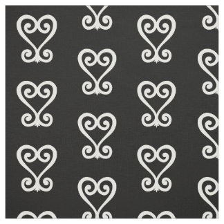 Sankofa | Return and get it - Adinkra Symbol Fabric