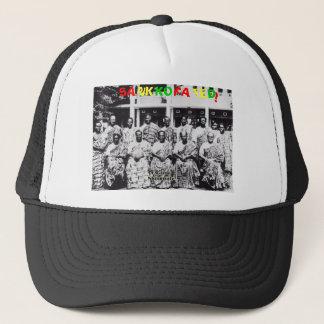 Sankofated Fishnet Baseball cap