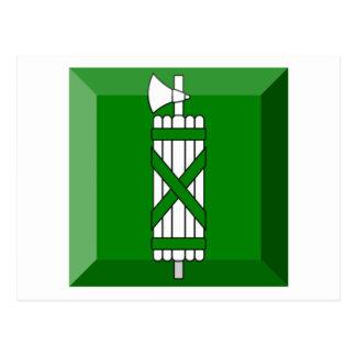 Sankt Gallen Flag Gem Post Card