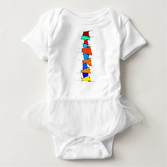 Sanomessia - melting cubes baby bodysuit