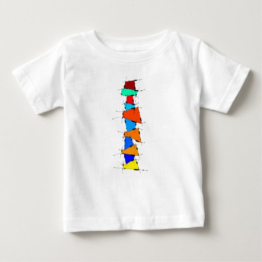 Sanomessia - melting cubes baby T-Shirt