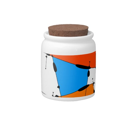 Sanomessia - melting cubes candy jar