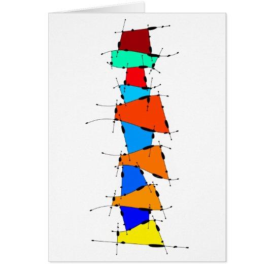 Sanomessia - melting cubes card