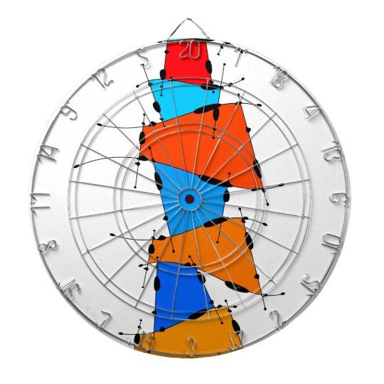 Sanomessia - melting cubes dartboard