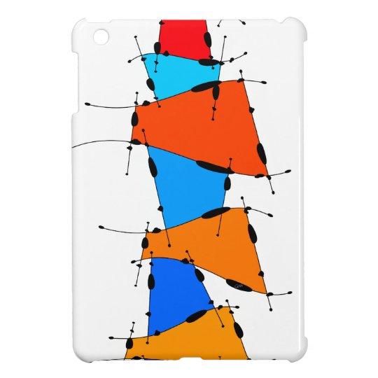 Sanomessia - melting cubes iPad mini cover