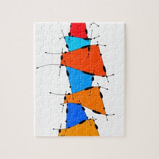 Sanomessia - melting cubes jigsaw puzzle