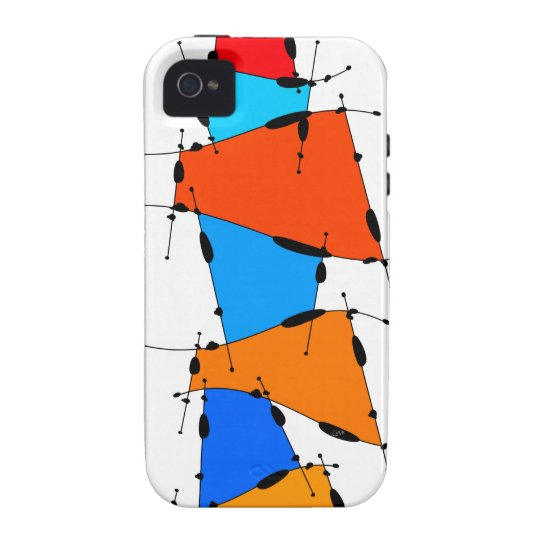 Sanomessia - melting cubes vibe iPhone 4 cases
