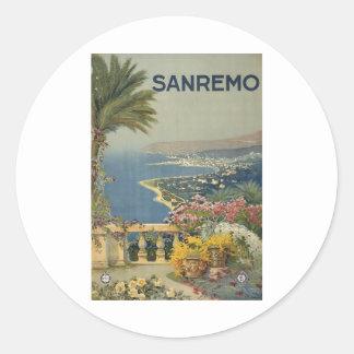 Sanremo poster 1920 sticker