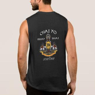 Sans manche thaïlandais de Chai Yo Muay Tee-shirts Sans Manches