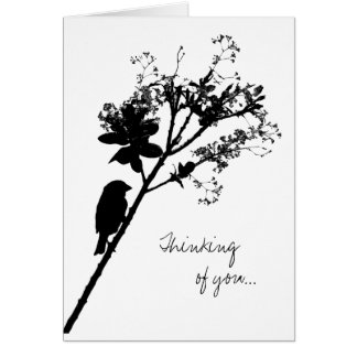 Sans Vous - thinking of you Card