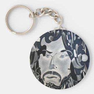 Sansonetti Man (1977) Basic Round Button Keychain
