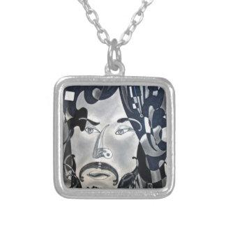 Sansonetti Man (1977) Silver Plated Necklace