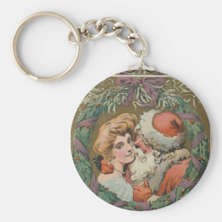 Santa 1905 Puck Cover Keychain