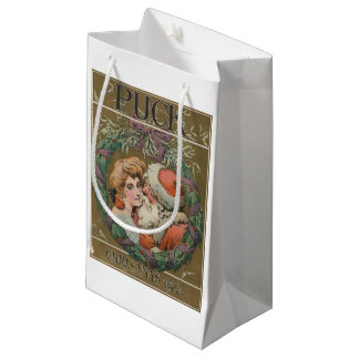 Santa 1905 Puck Cover Small Gift Bag