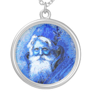 Santa 2014-1048 silver plated necklace