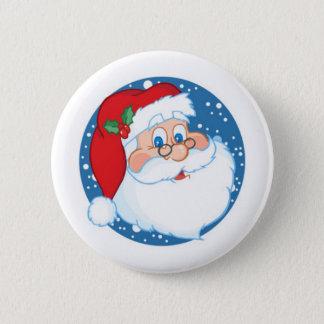 Santa 2 Inch Round Button