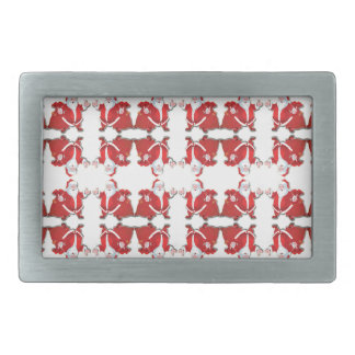 santa.ai rectangular belt buckles
