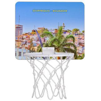 Santa Ana Hill, Guayaquil Poster Print Mini Basketball Hoop