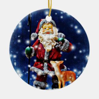 Santa and Baby Dear Ornament