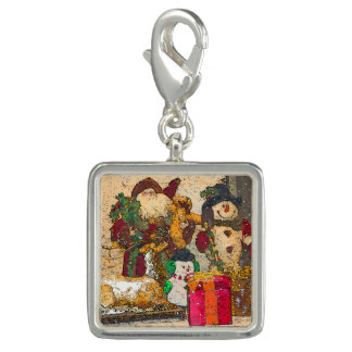 SANTA AND FRIENDS CHARMS