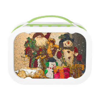 SANTA AND FRIENDS LUNCH BOX