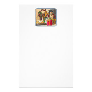 SANTA AND FRIENDS PERSONALIZED STATIONERY