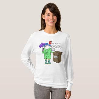 Santa and His Rain Gear T-Shirt