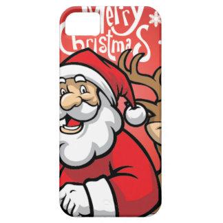 Santa and Reindeer iPhone 5 Covers