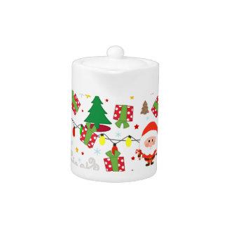 Santa and Rudolph pattern