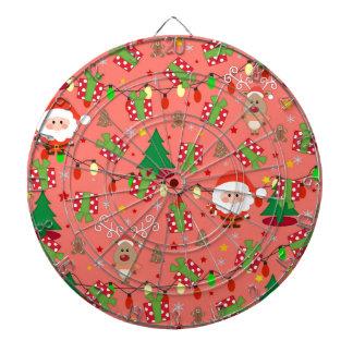 Santa and Rudolph pattern Dartboard