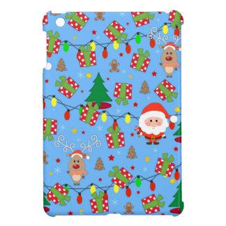 Santa and Rudolph pattern iPad Mini Cover