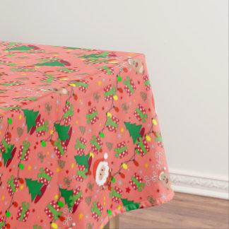 Santa and Rudolph pattern Tablecloth