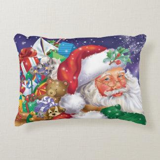 Santa and Toys Pillow