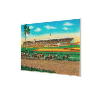 Santa Anita Park Horse RacesArcadia, CA Canvas Print