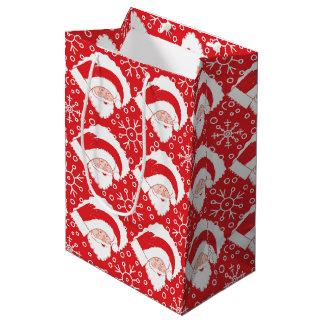 Santa Art Gift Bag