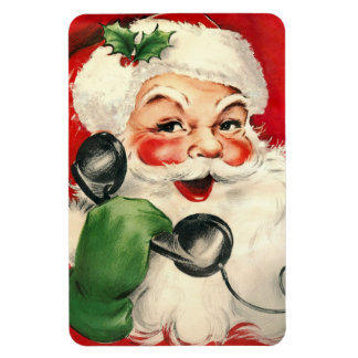 Santa at the Phone Magnet