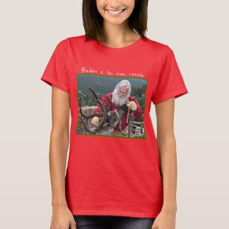 "Santa ""Babbo"" and his reindeer ""renna"" T-Shirt"
