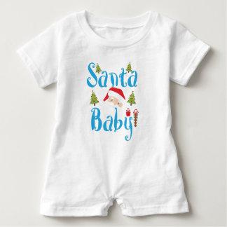 Santa Baby Boy Romper