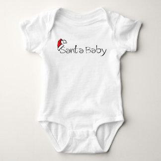 santa baby infant shirt