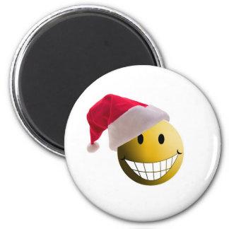 santa ball-2 magnet
