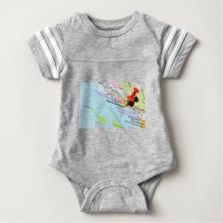 Santa Barbara, California Baby Bodysuit