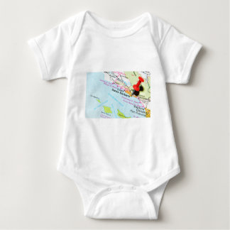 Santa Barbara, California Baby Bodysuit