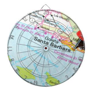 Santa Barbara, California Dartboard