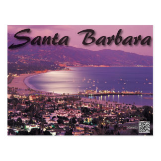 Santa Barbara California Post Card