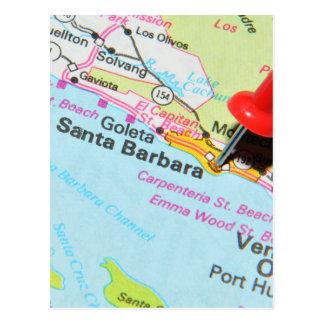 Santa Barbara, California Postcard