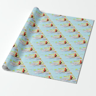 Santa Barbara, California Wrapping Paper