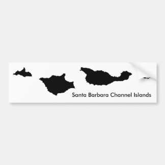 Santa Barbara Channel Islands Bumper Sticker