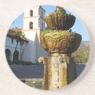 Santa Barbara Mission Fountain Coaster
