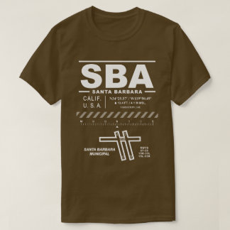 Santa Barbara Municipal Airport SBA T-Shirt