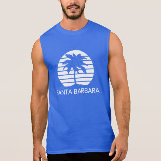 Santa Barbara Retro Sleeveless Shirt